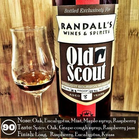 Old Scout Bourbon 8 years Review - Randalls Wine and Spirits