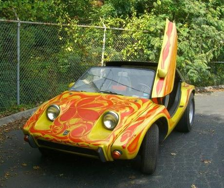 Baldwin Motion Meyers Manx SR... ever heard of Motion Mini Cars? Me neither...