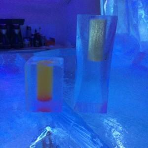 drink at ice hotel