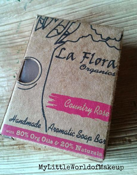 La Flora Organics Handmade Soap in Country Rose Review