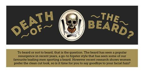 The death of the beard?.. I hope not!
