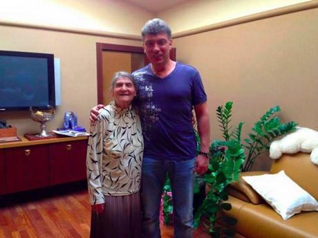 Boris Nemtsov Mom