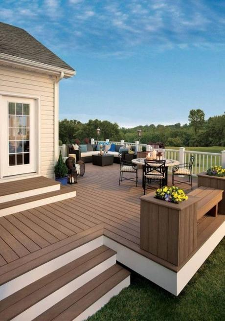 It's time to sort out the back garden.. Different Decking Idea and Inspiration!