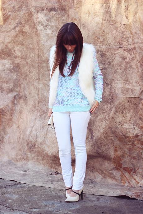 How to wear pastels in winter