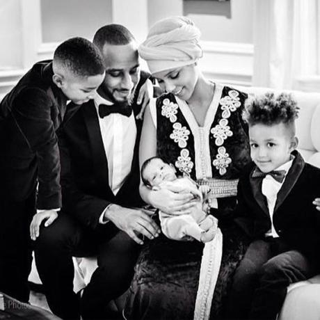 Alicia Keys Reveals Pictures Of Baby Genesis