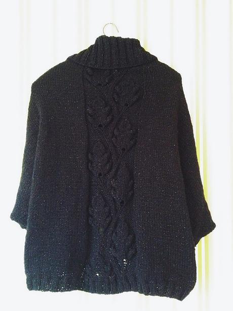 My first self-knitted Cardigan