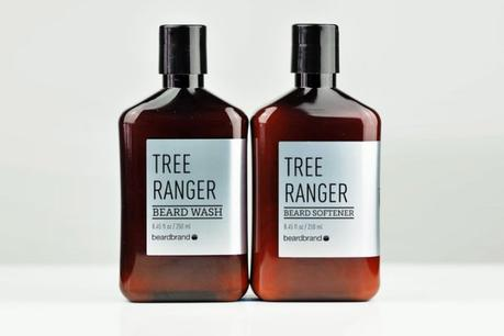 Beardbrand Tree Ranger Silver Line Beard Wash and Softener