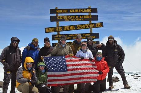 Kilimanjaro Climb for Valor 2015: The Team