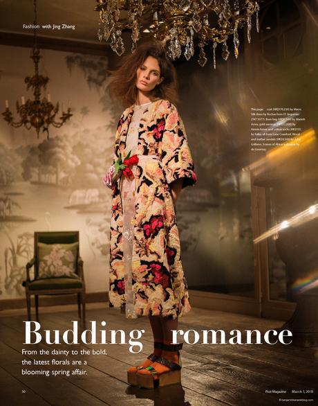 Alexandra Martynova wearing Marni in Budding Romance @ Benjamin Kanarek
