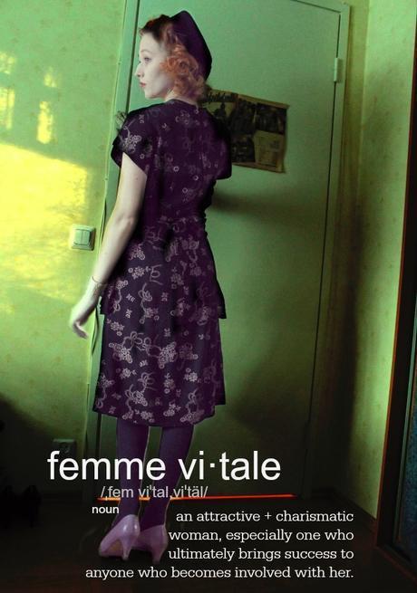 FEMME NOIR: modern noir + the femme vitale
