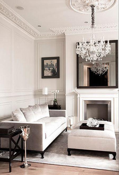 Chic Glamorous Living Room
