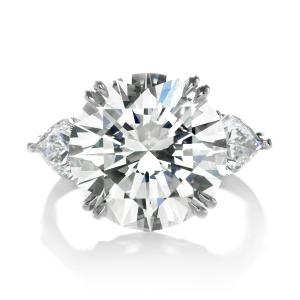 Forevermark by Premier Gem 10.08 ctw Diamond Ring with Round Brilliant Forevermark Diamonds set in Platinum