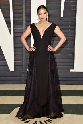 Paula Patton in Forevermark at Vanity Fair Party