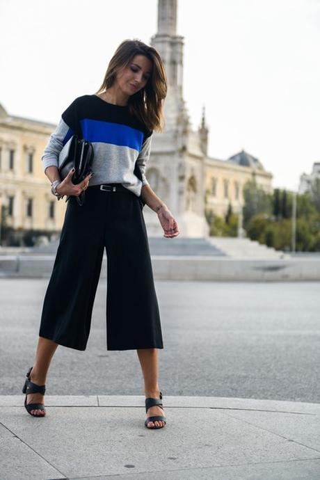 gauchos-and-color-block-sweater