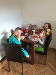 Ditching the highchair for Toosh Coosh