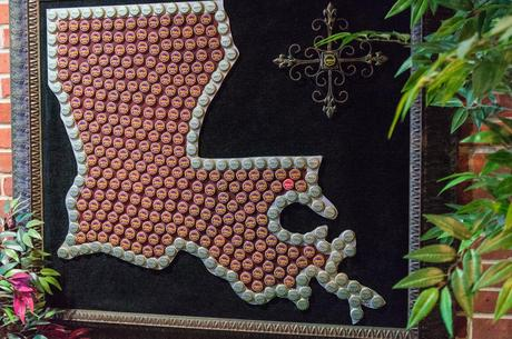 Louisiana in Abita Bottle Caps - 5 Must-see Attractions in Louisiana.