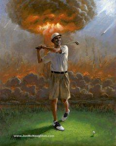 Artist Releases CONTROVERSIAL Painting of Barack Obama… You Have to See This!