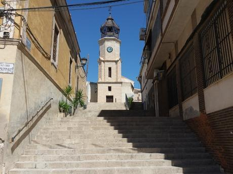 Pinoso clock tower