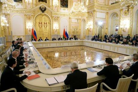 Putin Lukashenko Union State mtg 3 March 2015 f