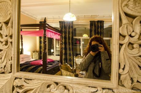 Me in my Junior Suite at the Hellsten