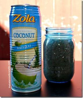 Live Zola Coconut Water Smoothie