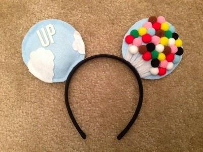 Minnie Mouse Ears (A must have for a Disneyland trip!)