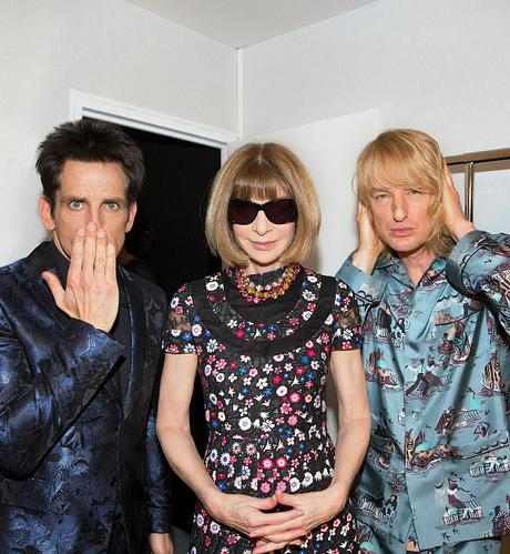 Backstage with Anna Wintour PFW FAF