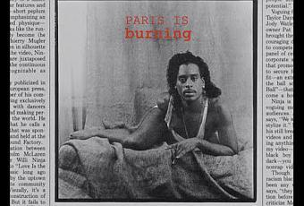 essays on paris is burning