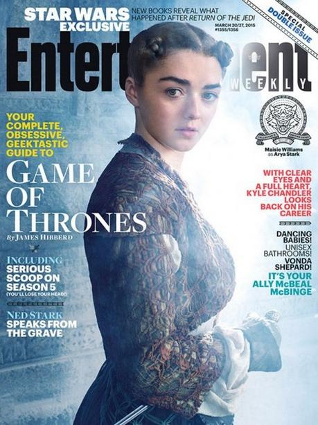 Game of Thrones Cast Stuns in New Season 5 EW Covers