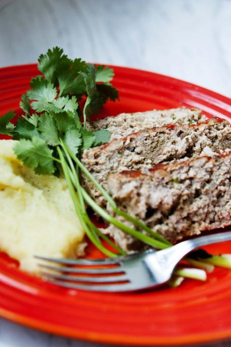Chipotle-Glazed Turkey Meatloaf