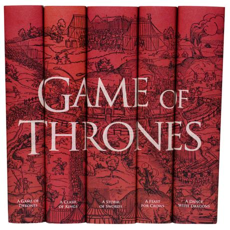 Once all the books in the series are out, I want to buy a complete boxed set of these books. I love how this collection looks
