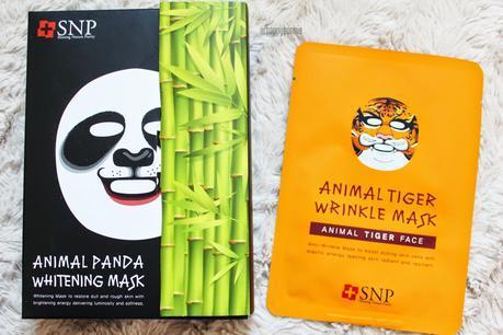 SNP Animal Sheet Mask Review