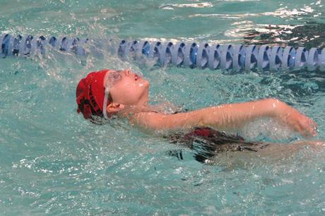 Backstroke Swimming