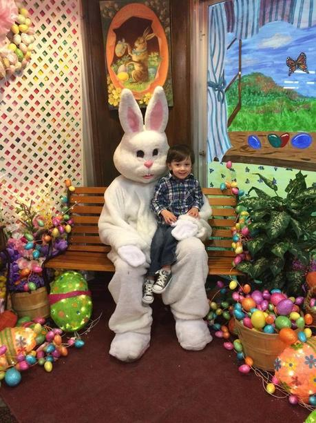 ash and easter bunny