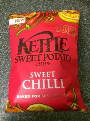 Today's Review: Kettle Sweet Potato Chips: Sweet Chilli