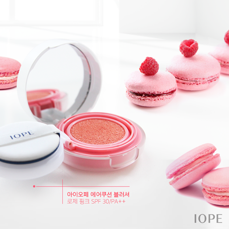 IOPE Air Cushion Blusher styled
