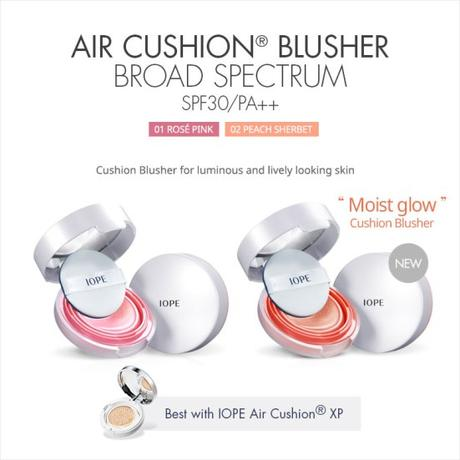 IOPE Air Cushion Blusher poster