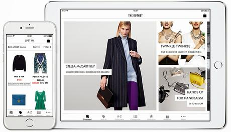 Shout Out Of The Day: The Outnet Relaunches It's Shopping App