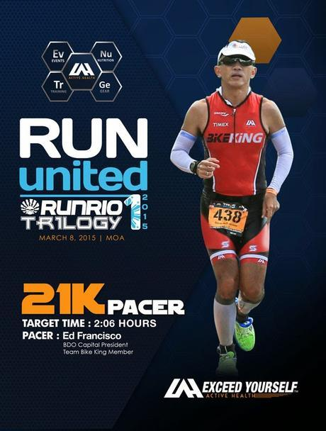 21K Pacer Duty at the 6th Run United Leg 1