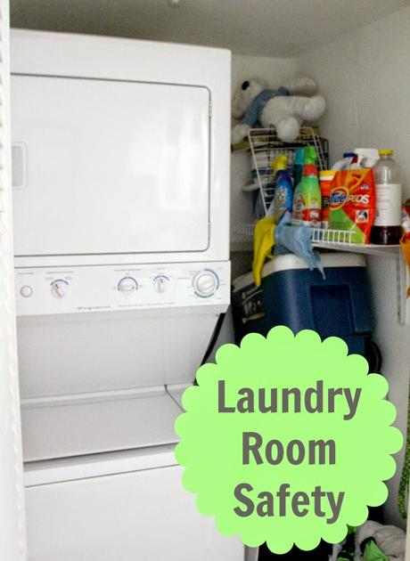 Is your laundry room safe? Here are some tips so you can make sure this is the safest room in your home! #ArribaYLejos #ad