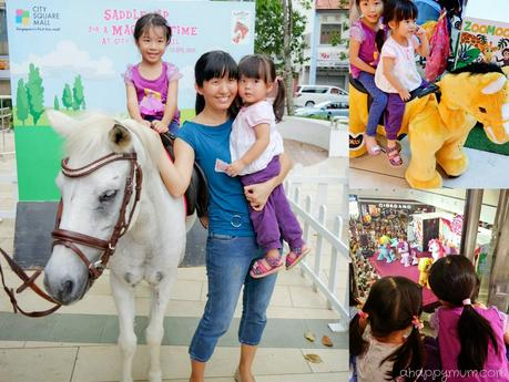 Ponies Galore at City Square Mall