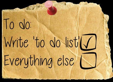 My current to do list