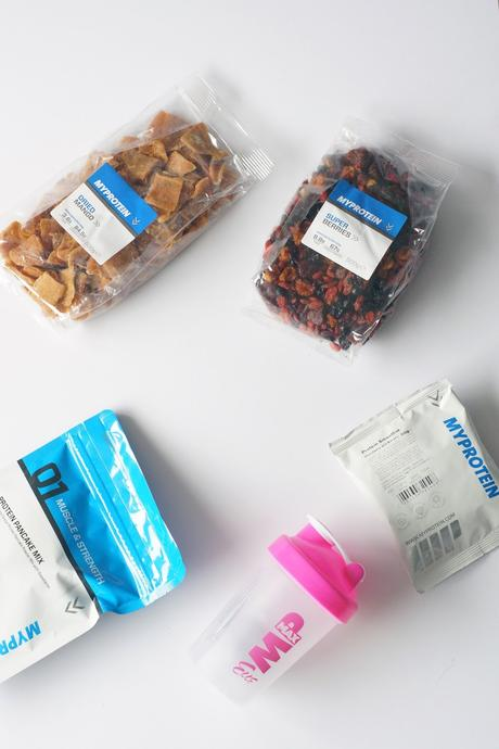 Hello Freckles Myprotein review healthy snacks