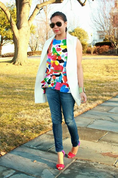 STYLE SWAP TUESDAYS-  COLOR SPLATTERED