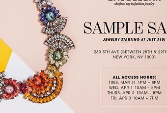 SHOPPING NYC: BaubleBar Sample Sale - Paperblog