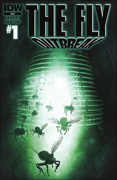 The Fly: Outbreak #1 Cover