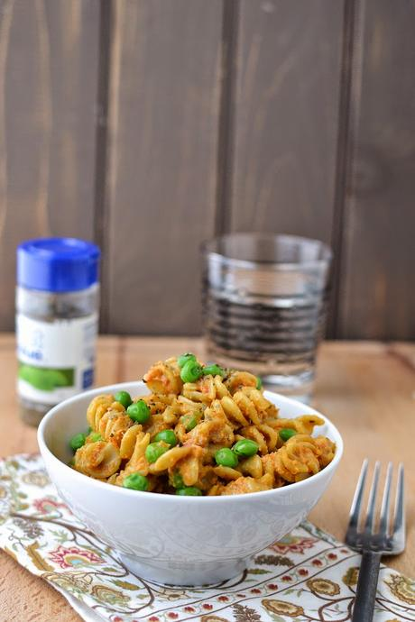 Red Pepper & Almonds Pasta Sauce