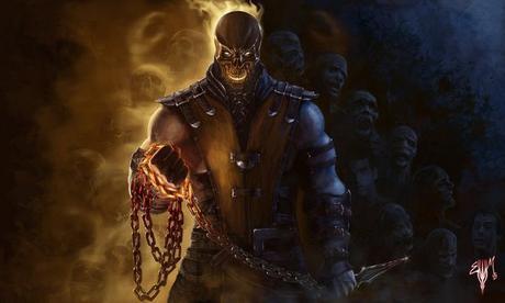 Impressive Mortal Kombat Fan Art: Scorpion, Baraka & More