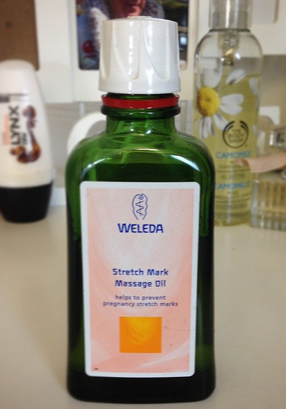 Review - Weleda Stretch Mark Massage Oil