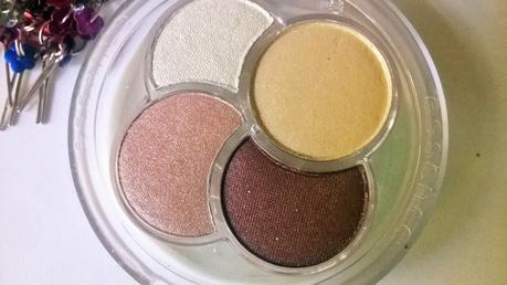 Essence Quattro Eyeshadow Palette in Most Wanted Review, Swatch, Application